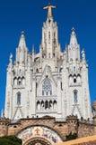 The Tibidabo Basilica Royalty Free Stock Photo