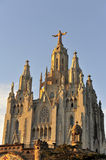 Tibidabo church, Barcelona, Spain Stock Image
