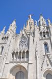 Tibidabo church in Barcelona, Spain. Royalty Free Stock Image