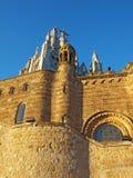 Tibidabo Church, Barcelona, Spain Stock Photos