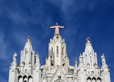 Tibidabo church/temple, Barcelona Stock Photography
