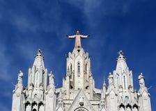 Tibidabo church/temple, Barcelona Stock Photography