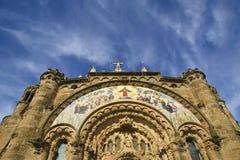Tibidabo church/temple, Barcelona Royalty Free Stock Photos