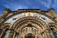 Tibidabo church/temple, Barcelona Stock Images