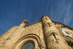 Tibidabo church/temple, Barcelona Royalty Free Stock Image