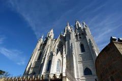 Tibidabo church/temple, Barcelona Stock Image