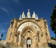 Tibidabo church/temple, Barcelona, Spain Royalty Free Stock Images