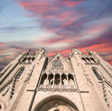 Tibidabo church/temple, Barcelona, Spain Stock Photos