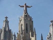 Tibidabo de Barcelona Imágenes de archivo libres de regalías