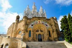 Tibidabo del templo Fotos de archivo