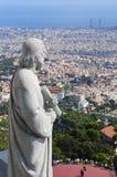 Tibidabo en Barcelona Foto de archivo libre de regalías