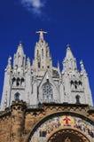 Tibidabo en Barcelona Foto de archivo