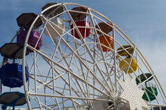 Tibidabo Ferris Wheel Stock Images