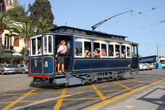 Tibidabo tram Stock Photography