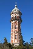 Tibidabo Water Tower Royalty Free Stock Photos
