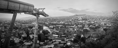 Tibilisi - πόλη στη Γεωργία στοκ εικόνα με δικαίωμα ελεύθερης χρήσης
