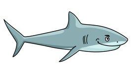 Tiburón feroz sonriente Imagenes de archivo