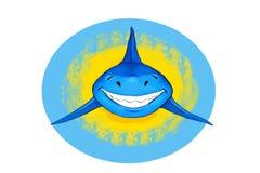 Tiburón sonriente Imagenes de archivo