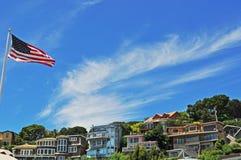 Tiburon, Сан-Франциско, Калифорния, Соединенные Штаты Америки, США Стоковое Изображение RF