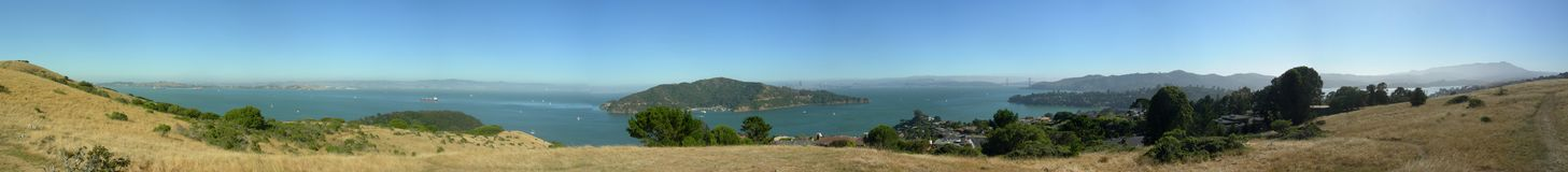 Tiburon panorama Royalty Free Stock Photo