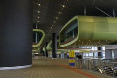 Tiburtina rail train station Stock Images