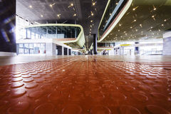 Tiburtina rail train station interior Royalty Free Stock Photo
