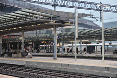 Tiburtina Railway station in Rome Royalty Free Stock Images