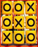 Tic-tac-teen spel Royalty-vrije Stock Afbeelding