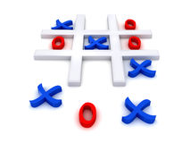Tic Tac Toe Stock Photo