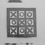 Tic Tac Toe Royalty Free Stock Photography