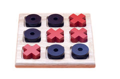 Tic-Tac_toe. Tic-Tac-Toe game board on a white background Royalty Free Stock Photo