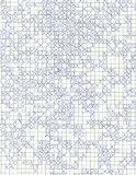 Tic tac toe background. Detail of tic tac toe on squared paper Royalty Free Stock Image