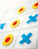 Tic Tac Toe game Stock Photography