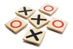 Tic-tac-toe Game Stock Photos