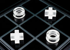 Tic-tac-toe game Stock Images