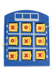 Tic-Tac-Toe game board. On a white background Stock Photo