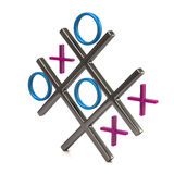 Tic tac toe game Royalty Free Stock Photography