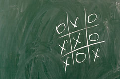 Tic tac toe game Royalty Free Stock Photo