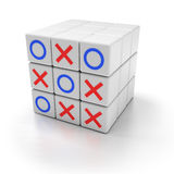 Tic tac toe game Stock Image