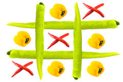 Tic tac toe isolated Stock Photo