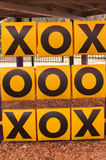 Tic-tac-toe Stock Photography