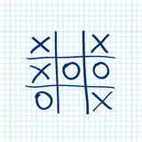 Tic tac toe. Noughts and crosses board game icon . Vector. Tic tac toe. Noughts and crosses board game icon  on a transparent background . Vector illustration Royalty Free Stock Photo