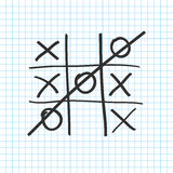 Tic tac toe. Noughts and crosses board game icon . Vector. Tic tac toe. Noughts and crosses board game icon  on a transparent background . Vector illustration Royalty Free Stock Image
