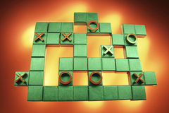 Tic Tac Toe Puzzle Stock Image