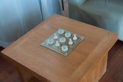 Tic-Tac Toe-Spiel stockfotografie