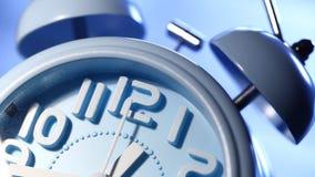 Ticchettio del fronte di orologio stock footage