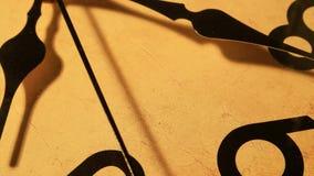 Ticchettio del fronte di orologio archivi video