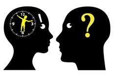 Ticchettio dell'orologio biologico? illustrazione di stock