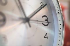 Ticchettio dell'orologio marcatempo Fotografie Stock Libere da Diritti