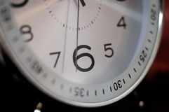 Ticchettio dell'orologio marcatempo Immagini Stock